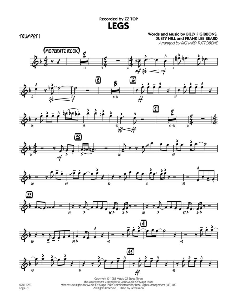 Legs - Trumpet 1