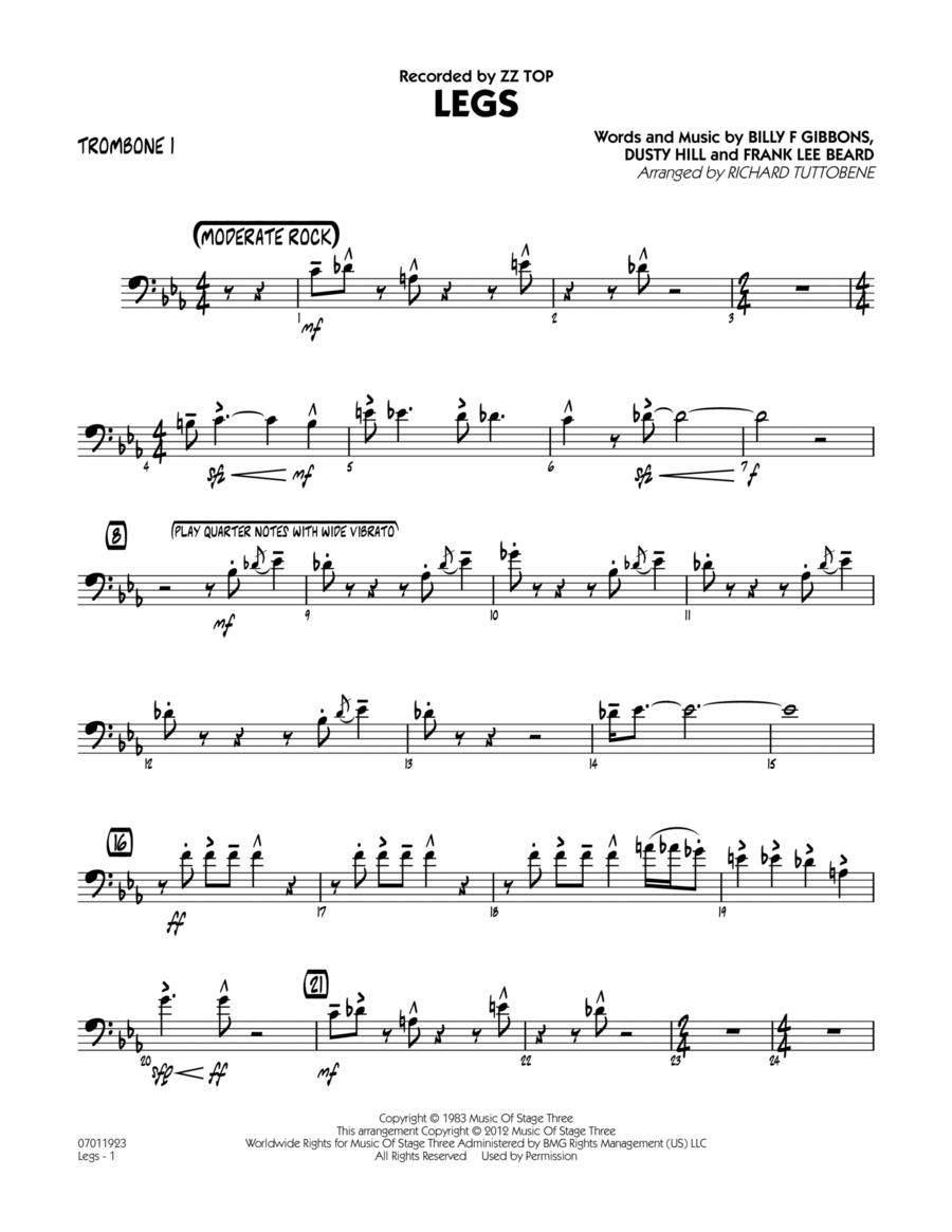 Legs - Trombone 1