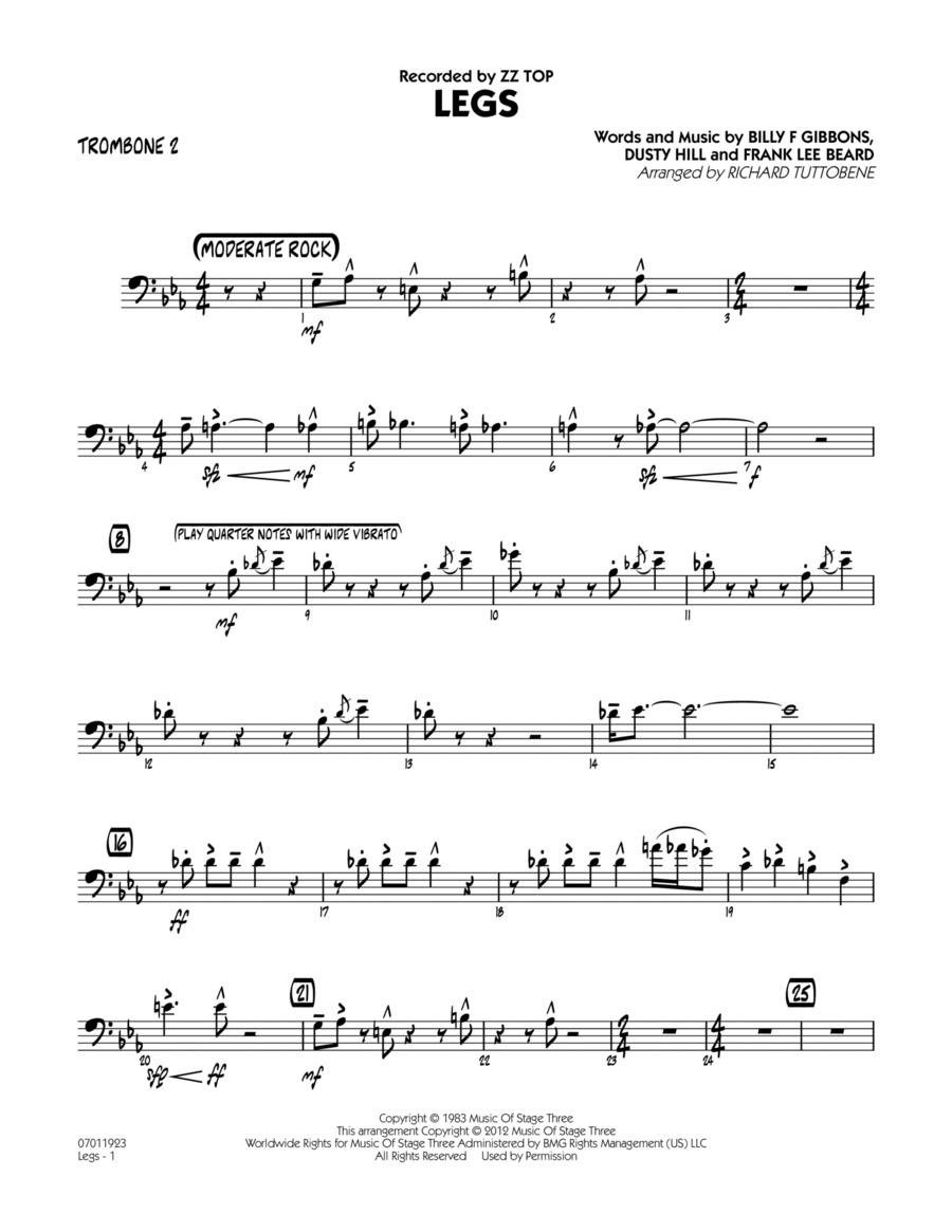 Legs - Trombone 2