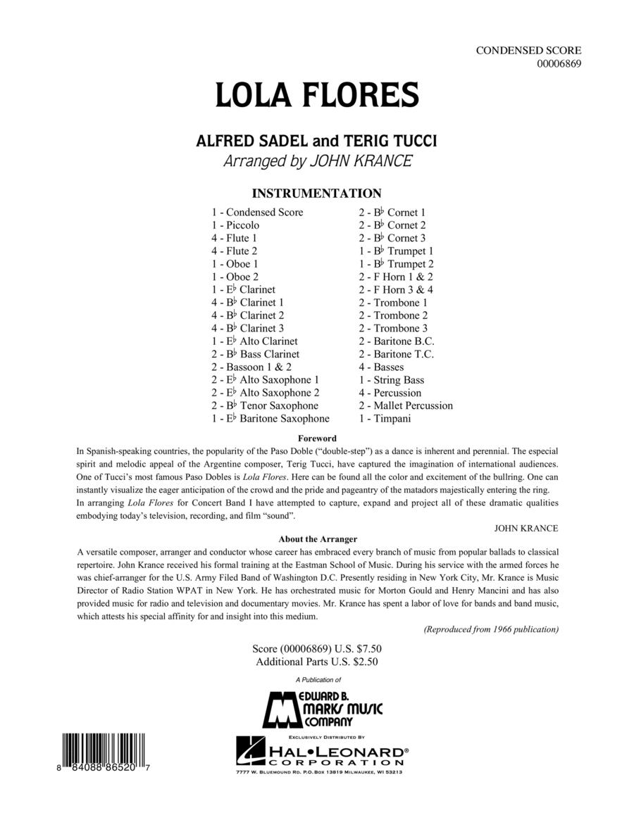 Lola Flores - Full Score