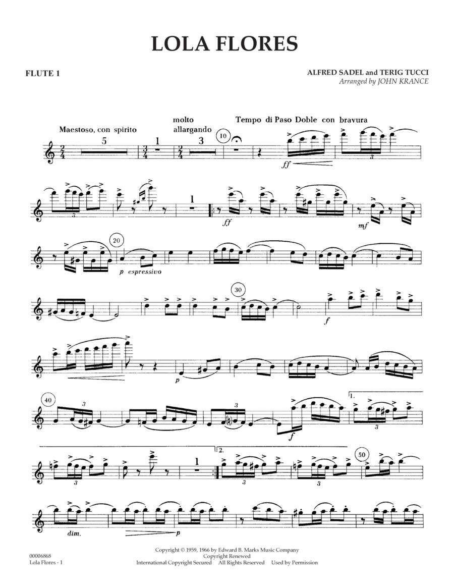 Lola Flores - Flute 1