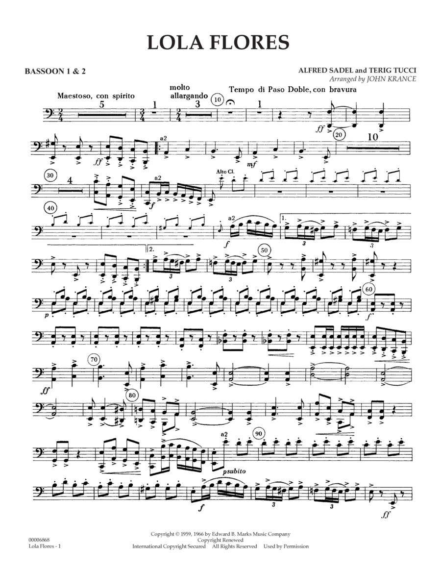 Lola Flores - Bassoon 1 & 2
