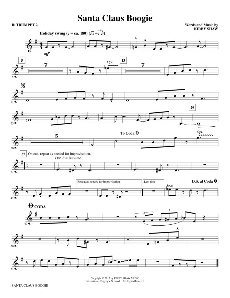 Santa Claus Boogie - Bb Trumpet 2