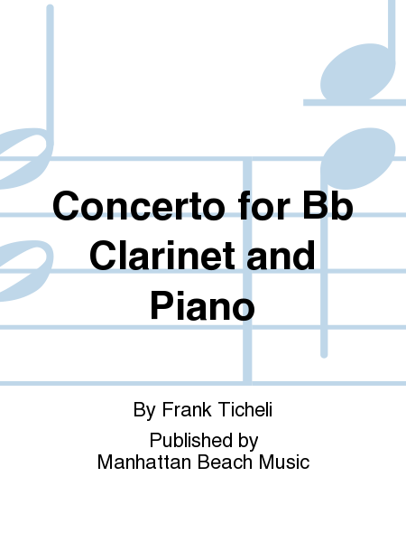 Concerto for Bb Clarinet and Piano