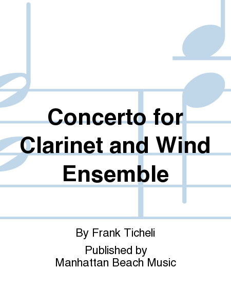 Concerto for Clarinet and Wind Ensemble