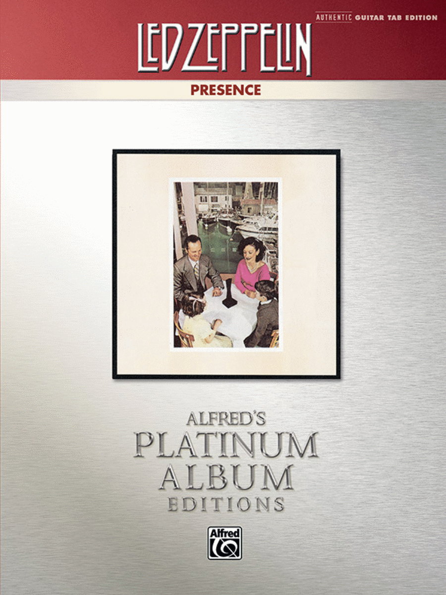 Led Zeppelin -- Presence Platinum Guitar