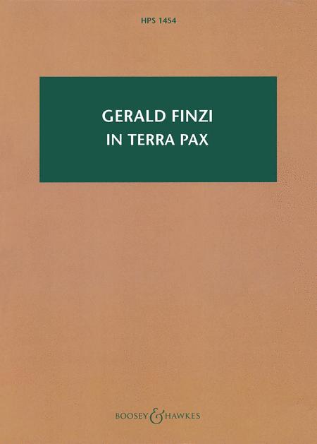 In terra pax, Op. 39