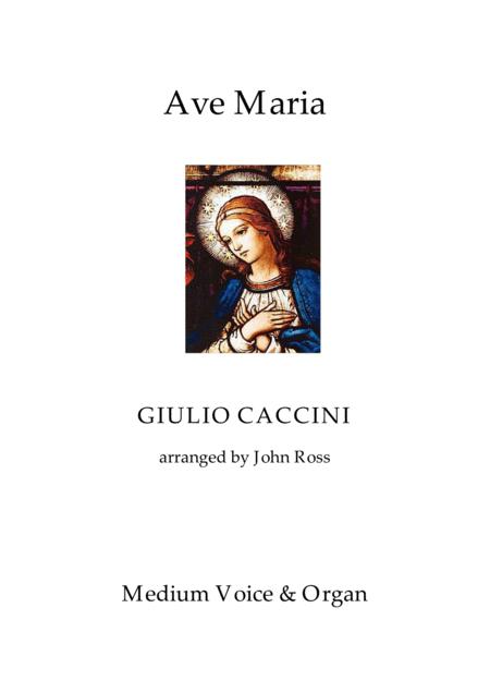 Ave Maria (Medium voice, Organ)