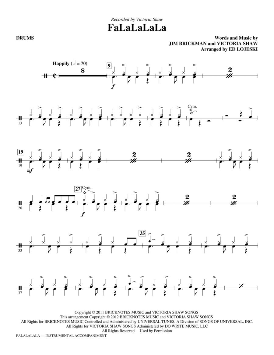 FaLaLaLaLa - Drums