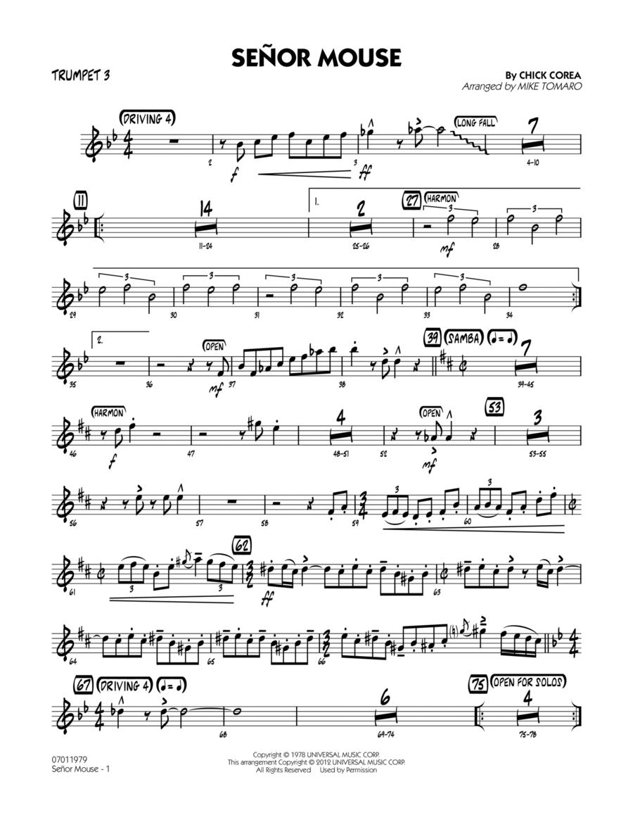 Senor Mouse - Trumpet 3