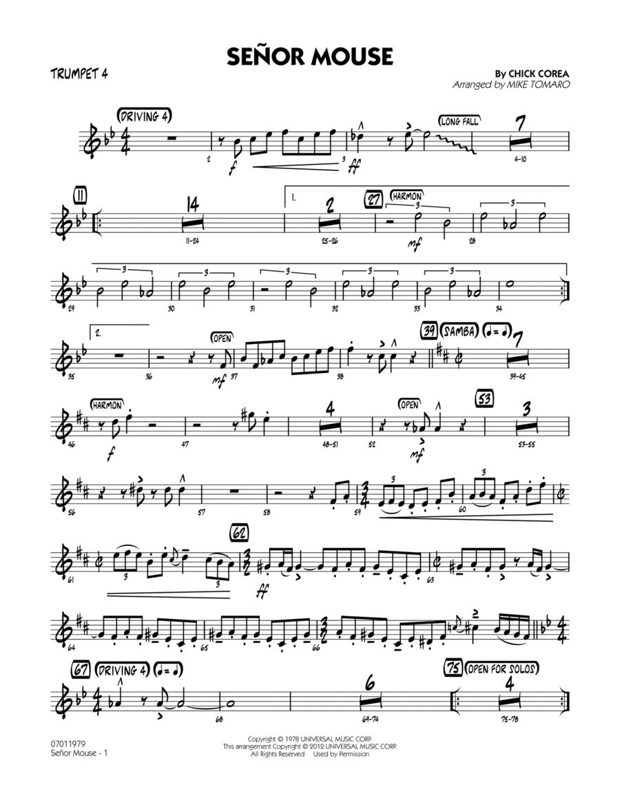 Senor Mouse - Trumpet 4