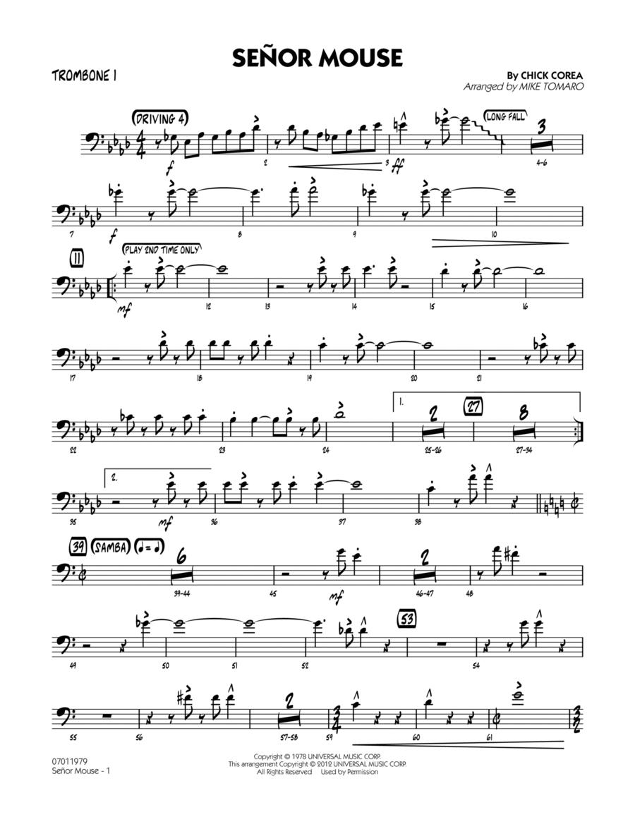 Senor Mouse - Trombone 1