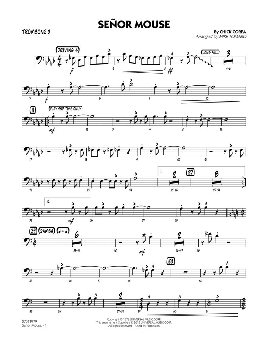 Senor Mouse - Trombone 3