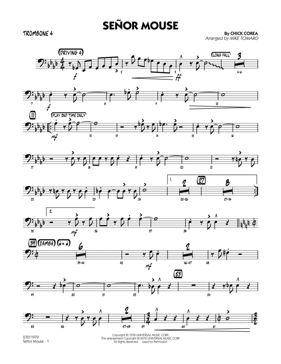 Senor Mouse - Trombone 4