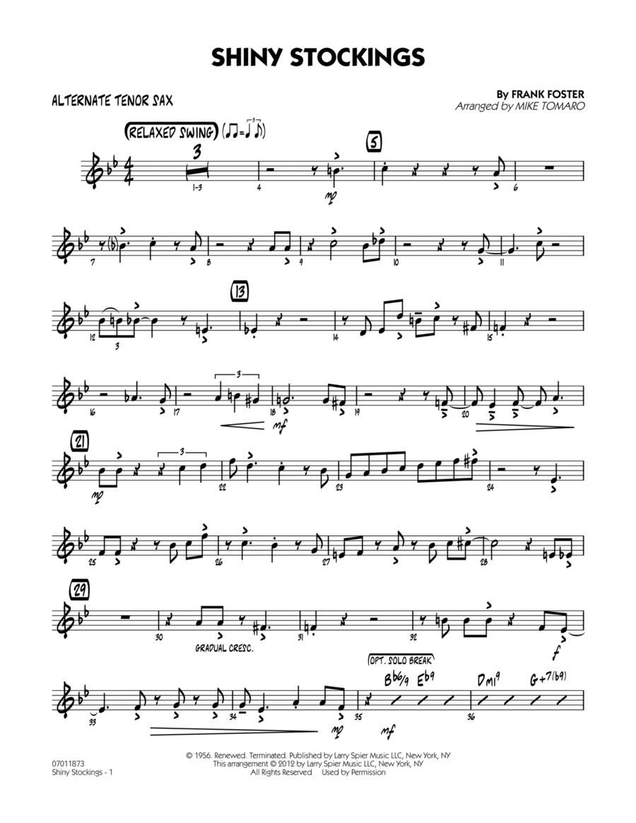 Shiny Stockings - Alternate Tenor Sax