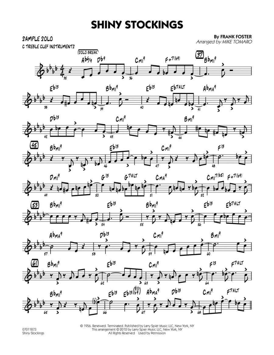 Shiny Stockings - Sample Solo - C Instruments