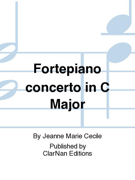 Fortepiano concerto in C Major