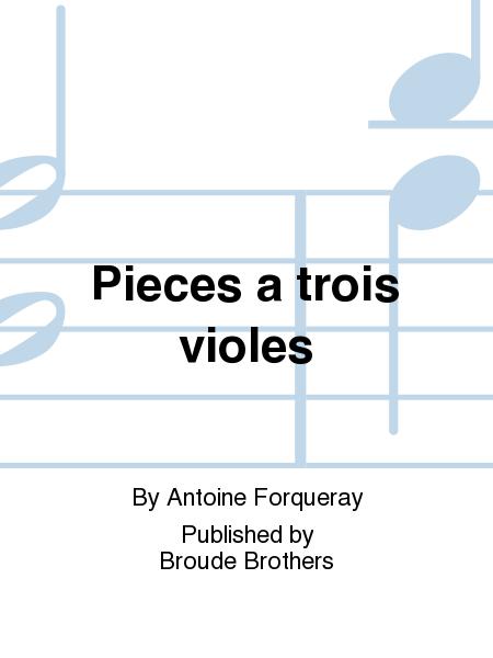 Pieces a trois violes