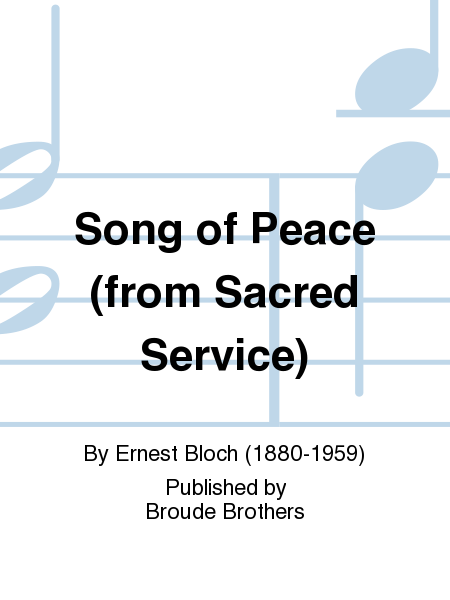 Song of Peace (from Sacred Service)