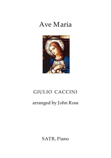 Ave Maria (SATB, Piano)