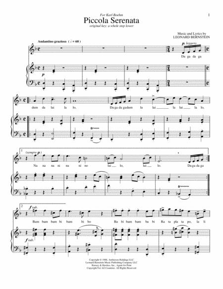 Piccola Serenata