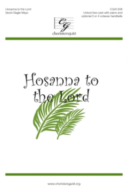 Hosanna to the Lord