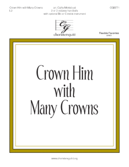 Crown Him with Many Crowns - 2-3 octaves