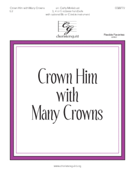 Crown Him with Many Crowns - 3-5 octaves