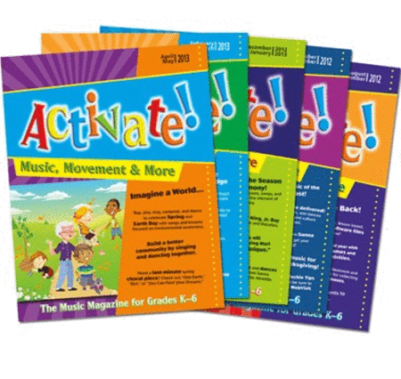 Activate! (2012-2013) Complete Set of Vol. 7
