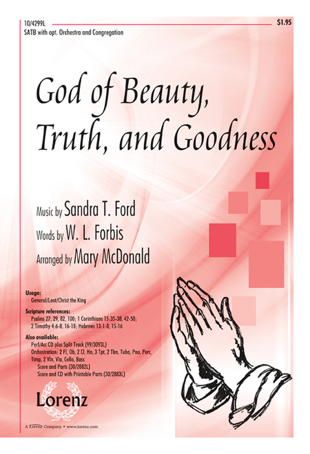 God of Beauty, Truth, and Goodness
