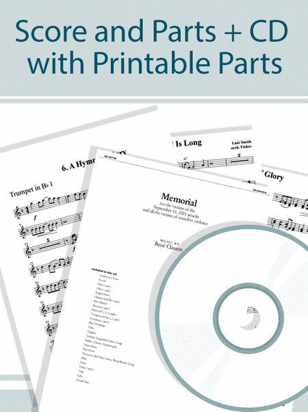 Wondrous Love - Full Orchestra Score and Parts plus CD with Printable Parts
