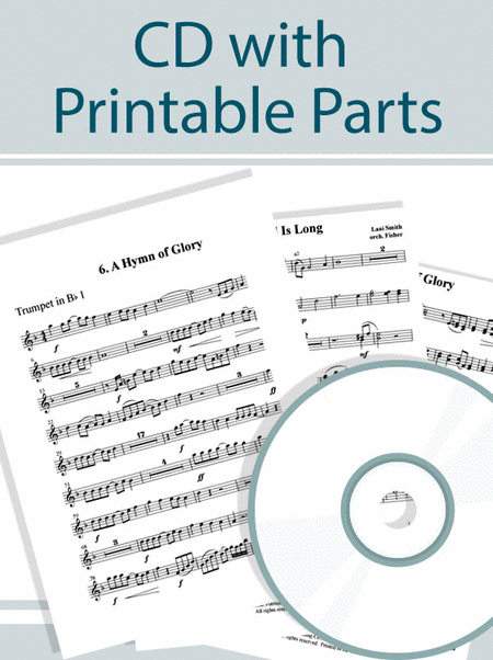 Wondrous Love - CD with Instrumental Ensemble Printable Parts