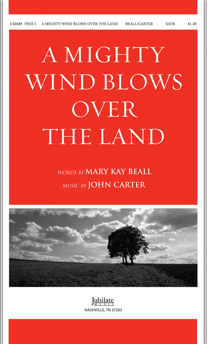 A Mighty Wind Blows Over the Land (octavo)