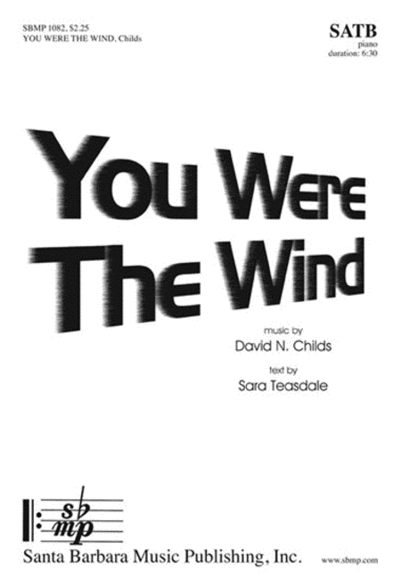 You Were The Wind