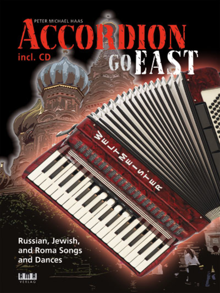 Accordion Go East Book/CD Set