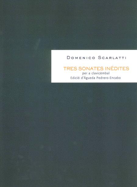 Tres sonates inedites