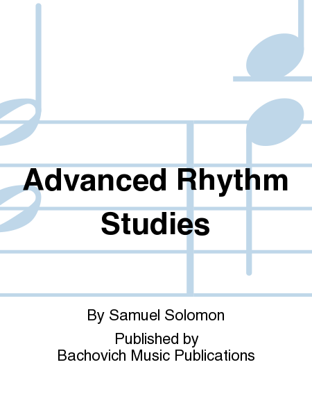 Advanced Rhythm Studies