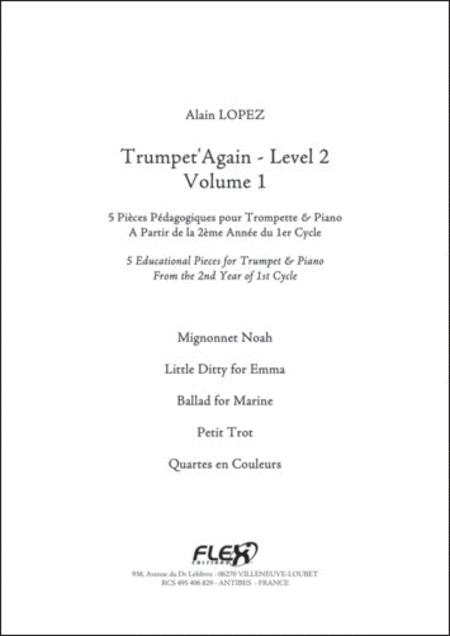 Trumpet'Again - Level 2 - Volume 1