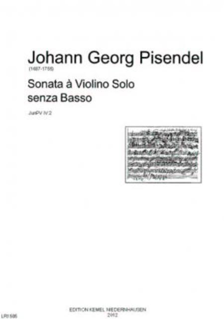 Sonata : a violino solo senza basso, JunPV IV:2