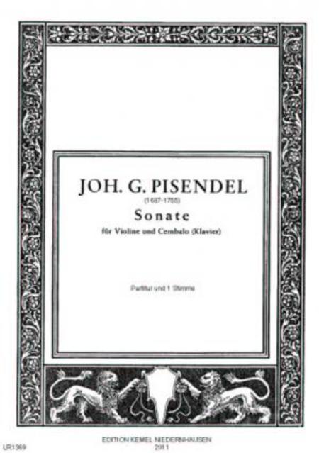 Sonate : fur Violine und Cembalo oder Klavier