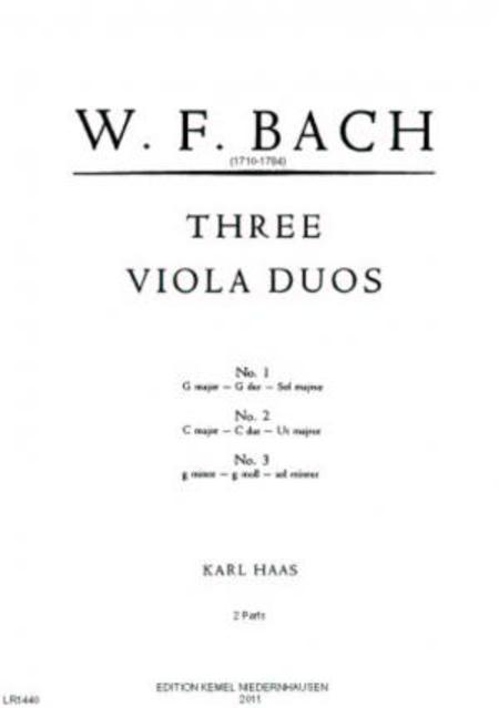 Three viola duos