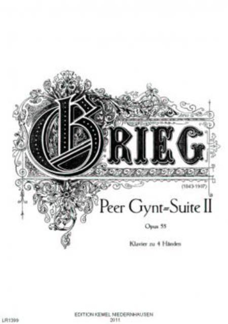 Peer Gynt-Suite II : Klavier zu 4 Handen, opus 55