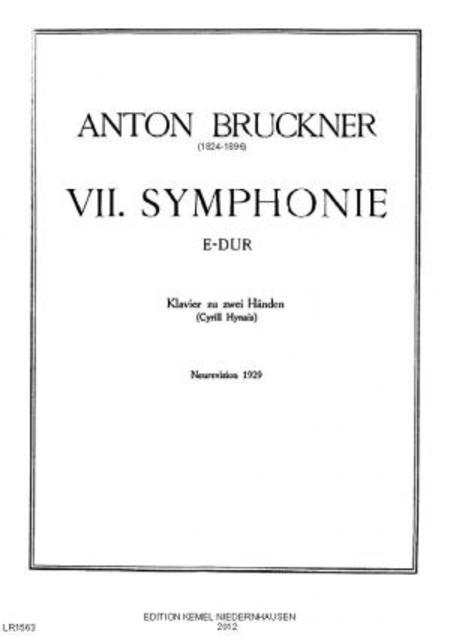 Siebte Symphonie E-dur : Klavier zu zwei Handen, 1929