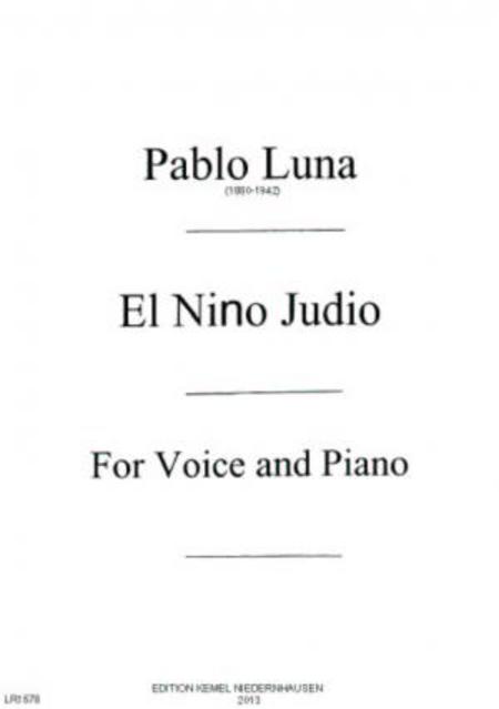 El nino judio : zarzuela en dos actos : no. 7, Imitacion de las hermanas catafalco : for voice and piano