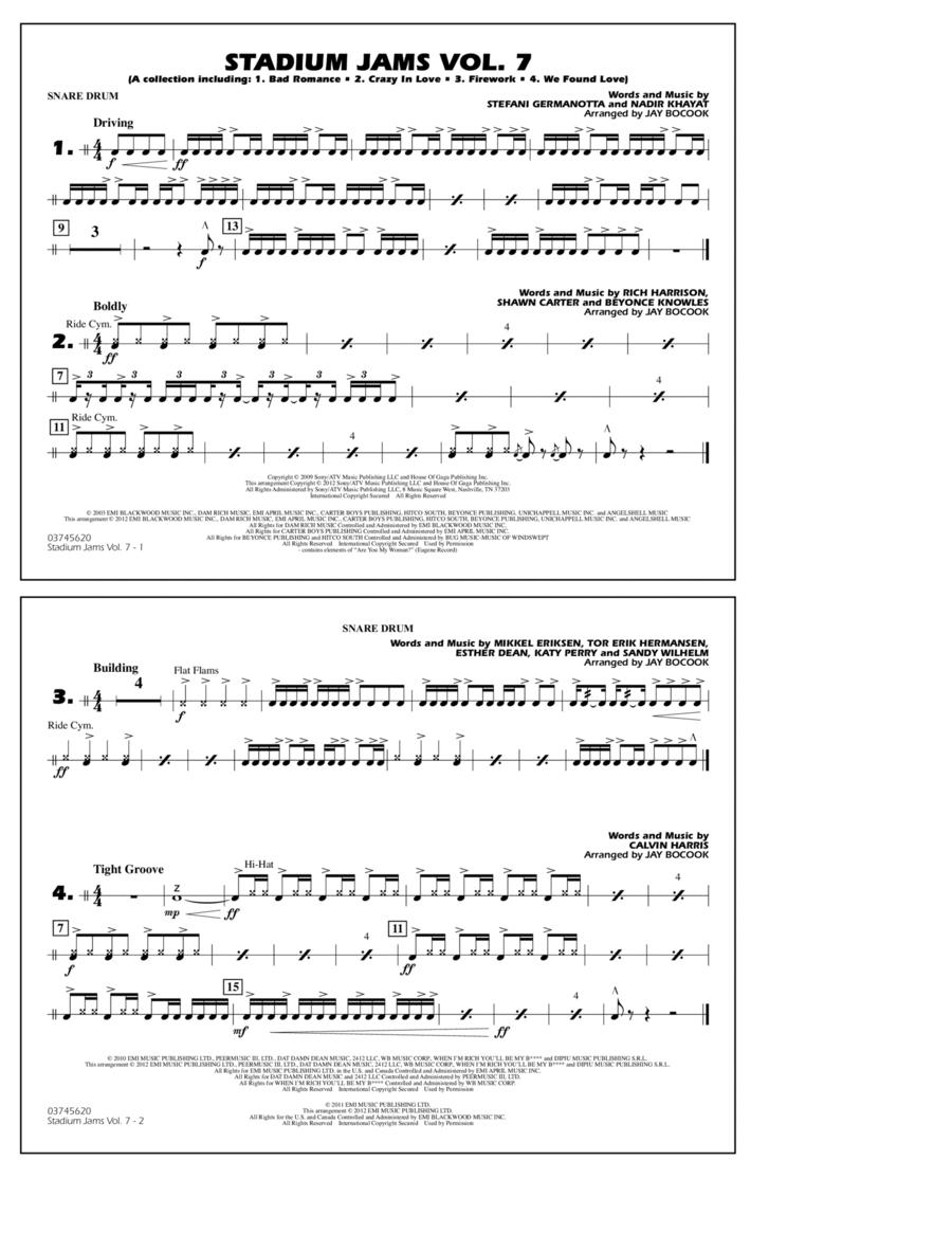 Stadium Jams Vol. 7 (Ladies Of Pop) - Snare Drum