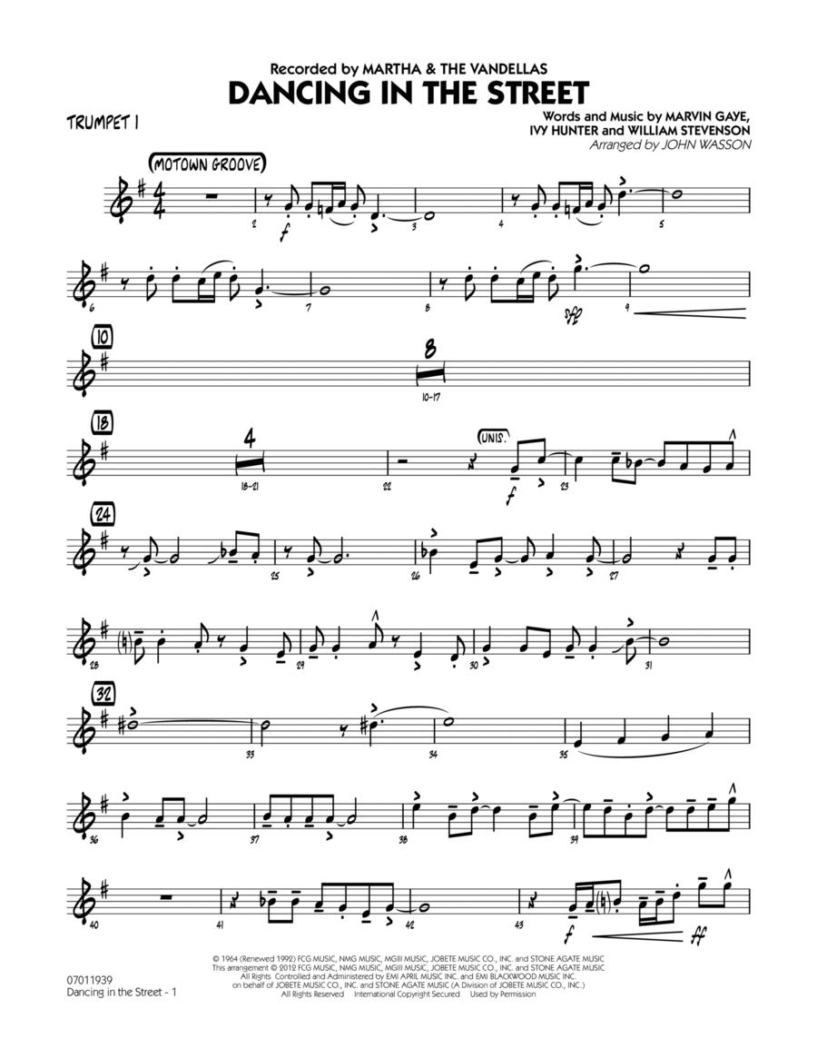 Dancing In The Street - Trumpet 1