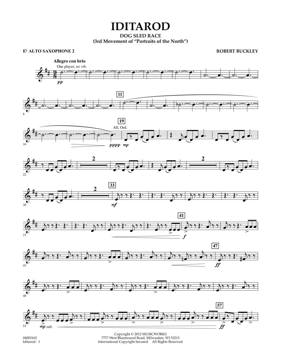 Iditarod - Eb Alto Saxophone 2