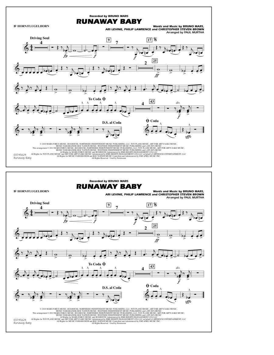 Runaway Baby - Bb Horn/Flugelhorn