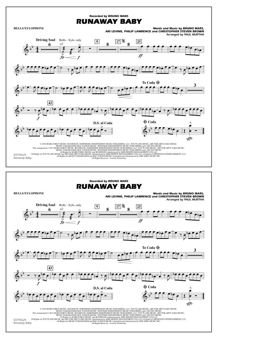 Runaway Baby - Bells/Xylophone