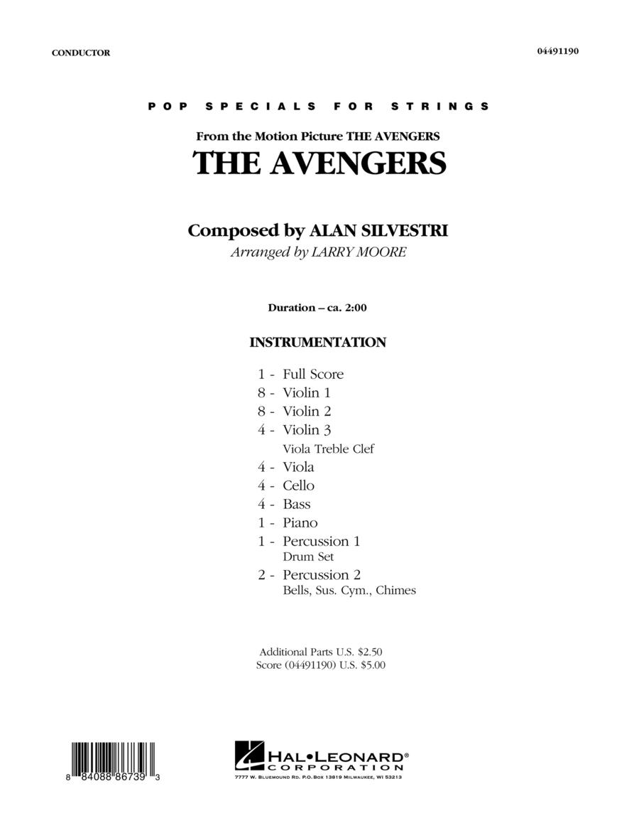 The Avengers (Main Theme) - Full Score